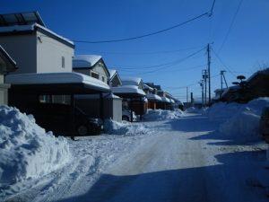 雪道 雪国 滑りやすい