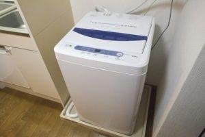 男の一人暮らし必要な電化製品は?洗濯機