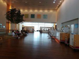 ホテル日航新潟のデメリットはフロントが分かりづらい!