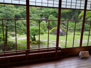 新潟 斎藤邸の庭園