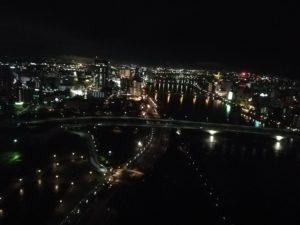 ホテル日航新潟の夜景 オススメ